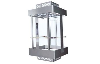 家庭用小型观光电梯-加外包框架结构