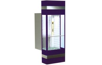 单边开门式透明观光电梯