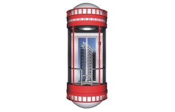 两层圆弧形观光电梯GL-03