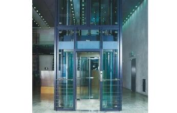 无底坑跃层式电梯